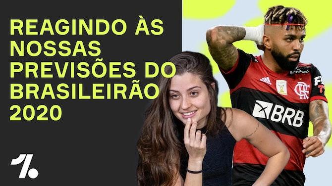 Imagem de visualização para REAGINDO as previsões do BRASILEIRÃO 2020! ft. Luana Maluf e Marcos Monteiro