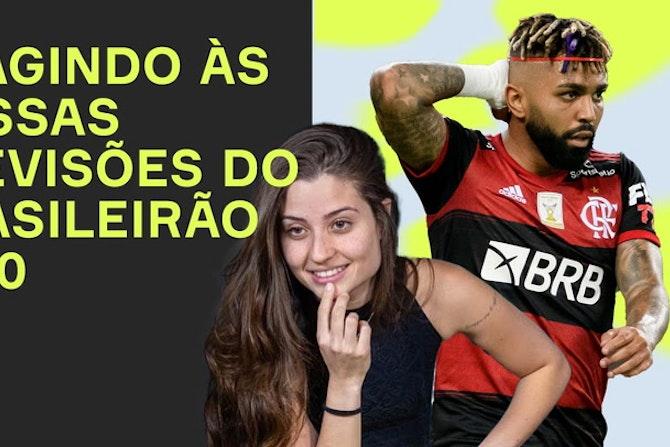 REAGINDO as previsões do BRASILEIRÃO 2020! ft. Luana Maluf e Marcos Monteiro