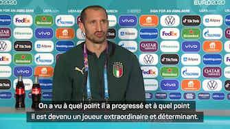 """Image d'aperçu pour Quarts - Chiellini : """"On ne peut pas résumer la Belgique à Lukaku"""""""
