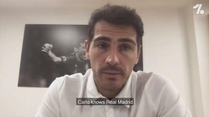 """Imagen de vista previa para Iker Casillas: """"El Real Madrid acierta con Ancelotti"""""""