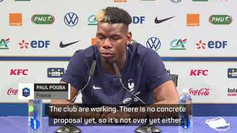 Preview image for Pogba denies transfer speculation will affect France form