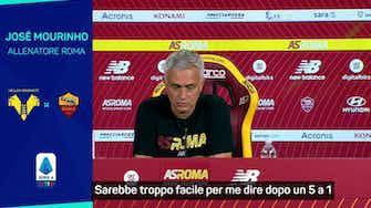 """Anteprima immagine per Mourinho avvisa la Roma: """"Non siamo perfetti"""""""