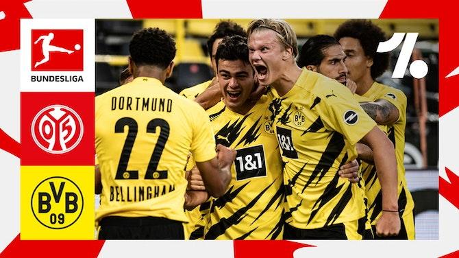 O que de melhor aconteceu em 1. FSV Mainz 05 vs. Borussia Dortmund   05/16/2021