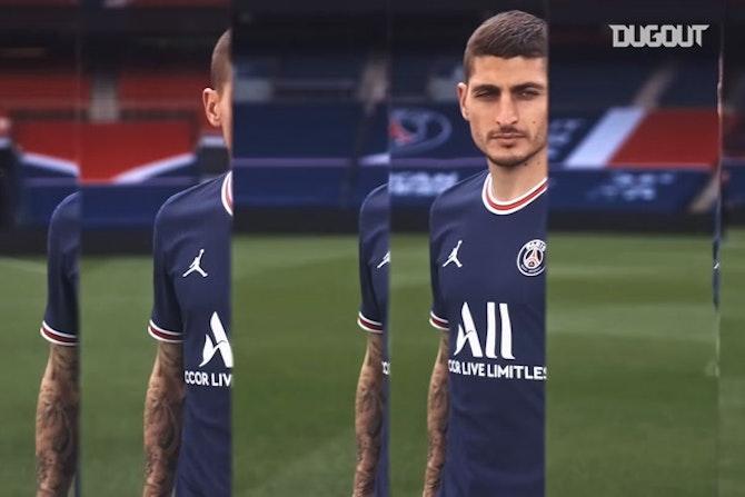 El PSG presenta su camiseta para la temporada 21/22