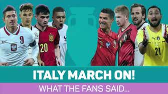 Preview image for 'We're better than Spain!' – Italy fans bold ahead of semi-final showdown