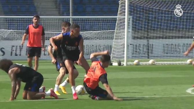 Imagem de visualização para Com Alaba já integrado, Real Madrid segue trabalhos de pré-temporada