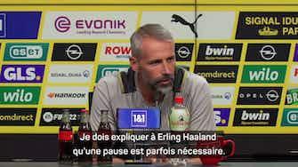 """Image d'aperçu pour Dortmund - Rose : """"Je dois expliquer à Erling qu'une pause est parfois nécessaire"""""""
