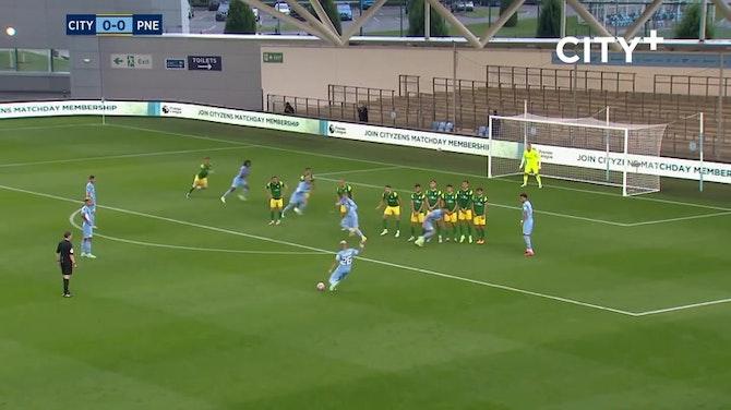 Preview image for Mahrez and Edozie score in Man City pre-season win