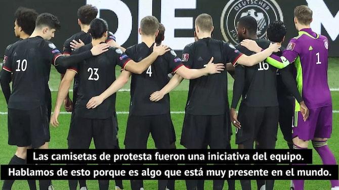 Havertz explica las protestas de la 'Mannschaft'