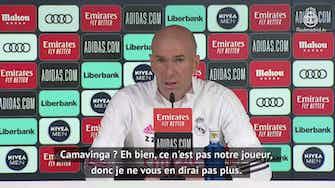 """Image d'aperçu pour 27e j. - Zidane : """"Camavinga est promis à un bel avenir"""""""