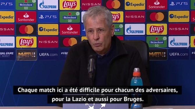 """Groupe F - Favre : """"Cette Ligue des champions nous a coûté beaucoup d'énergie"""""""