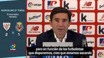 """Imagen de vista previa para Marcelino: """"Somos solventes; la afición puede estar orgullosa"""""""