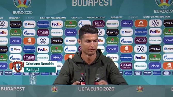 Portugal - Ne donnez jamais de Coca-Cola à Ronaldo !