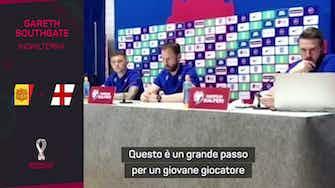 """Anteprima immagine per Southgate: """"La Serie A farà bene ad Abraham"""""""