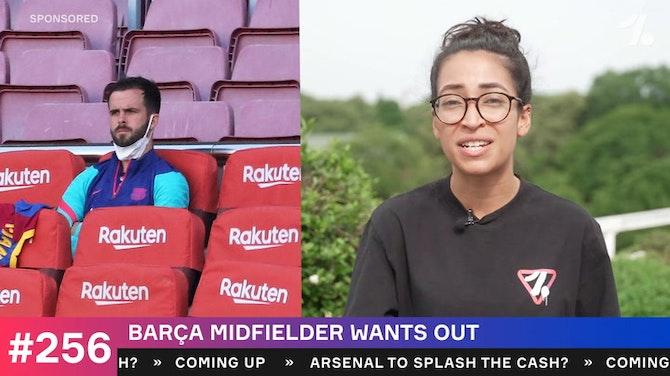 Barcelona midfielder wants out
