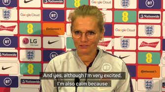 Preview image for England women's first competitive Wembley match 'special', says Wiegman