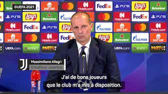 """Image d'aperçu pour Groupe H - Allegri : """"Cette équipe trouve du plaisir à défendre"""""""