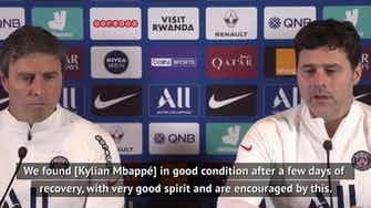 Preview image for Pochettino hoping Mbappé continues to enjoy life at PSG