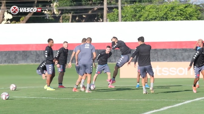 Preview image for Vasco's last training session before Goiás clash