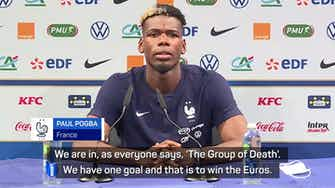 Preview image for Pogba unfazed by 'Group of Death'