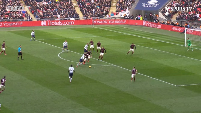 Son Heung-min Scores The Winner Against Newcastle