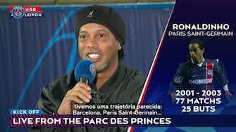 Imagem de visualização para Ronaldinho fala sobre sentimento de ver Messi e Neymar juntos no PSG
