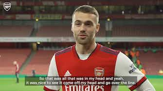 Preview image for Calum Chambers on scoring after just 23 seconds