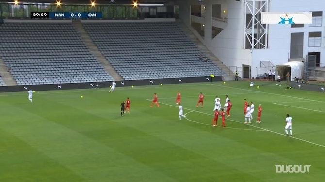 Highlights: Nimes 0-1 Marseille (Tháng 8/2020)