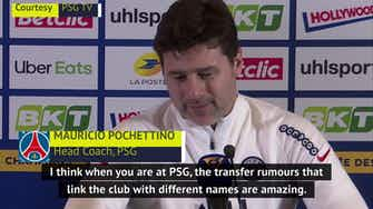 Preview image for Transfer rumours 'amazing' but Poch only focused on beating Marseille