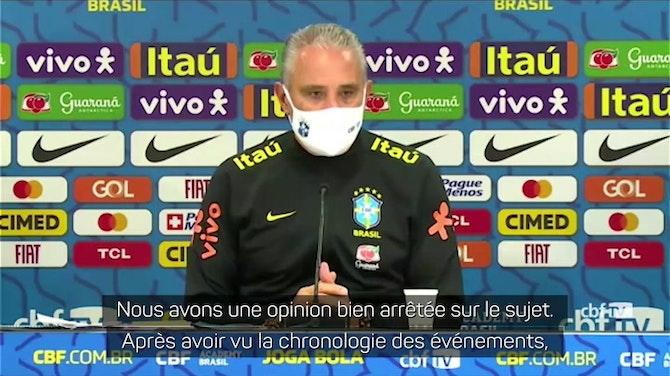 Image d'aperçu pour Copa America - Tite laisse planer le doute d'un boycott