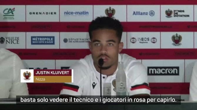 """Anteprima immagine per Kluivert: """"Nizza club ambizioso, in Italia ho imparato molto"""""""