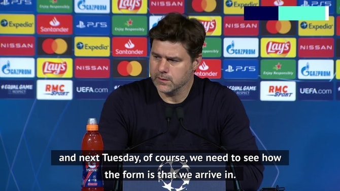 PSG players have strong belief to turn tie around in Manchester - Pochettino