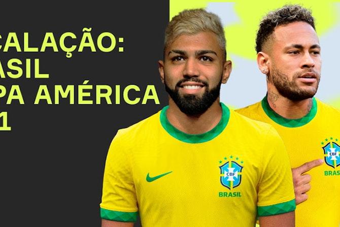 Neymar e...Gabigol? Qual a escalação do BRASIL pra Copa América 2021?