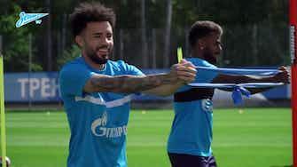 Imagem de visualização para Claudinho completa primeiro treino no Zenit; veja como foi