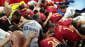 Imagen de vista previa para Sergio Gómez finaliza una increíble jugada colectiva de la selección española sub-21