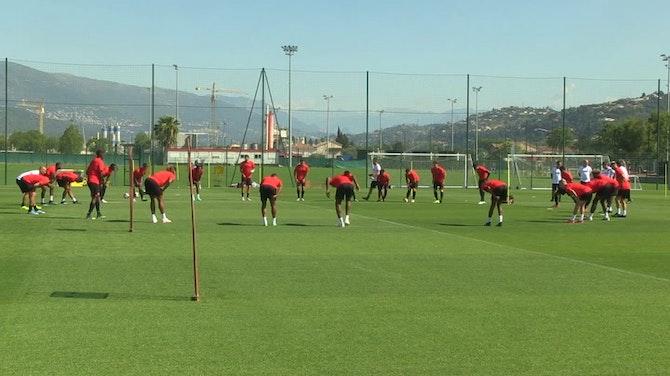 Image d'aperçu pour Nice - Premier entraînement pour Galtier