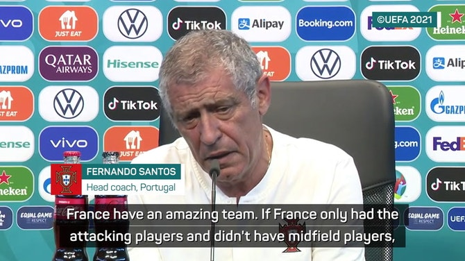 Santos believes Portugal can match Mbappe, Benzema and Griezmann