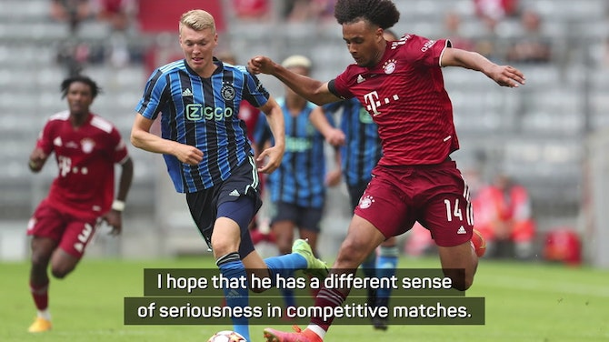 Preview image for Nagelsmann won't dwell on incredible Zirkzee miss