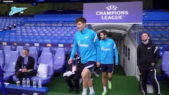 Image d'aperçu pour L'entrainement du Zenith à Stamford Bridge
