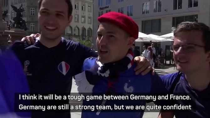 'Even Germans aren't confident!' - Fans preview France-Germany clash