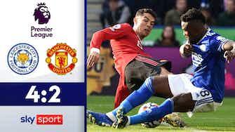 Vorschaubild für Wilde Schlussphase! Uniteds Auswärtsserie reißt   Leicester City - Man United 4:2
