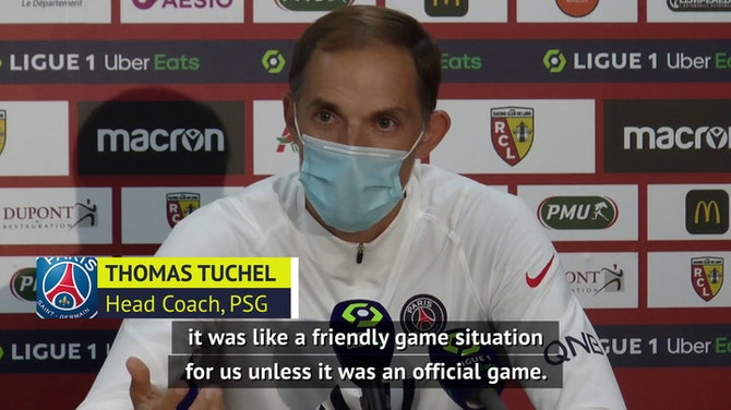 Preview image for Tuchel 'realistic' after PSG defeat to Lens