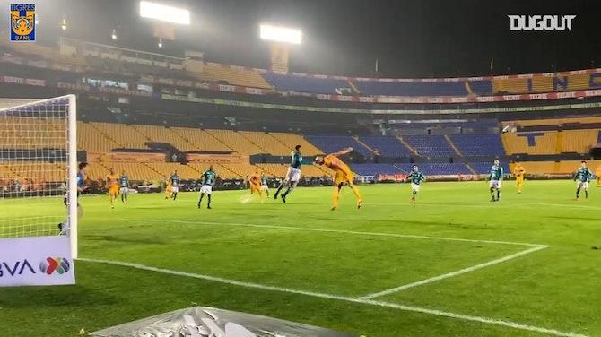 El 2-0 de Tigres ante León, desde a pie de campo