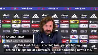 Preview image for Pirlo apologises to son over social media death threats