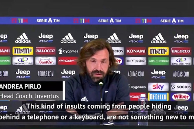 Pirlo apologises to son over social media death threats