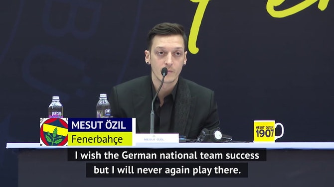 Preview image for Ozil rules out international football return for Germany
