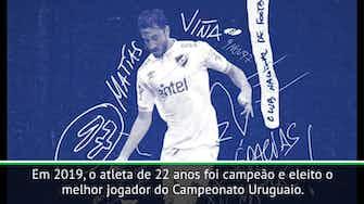 Imagem de visualização para Saiba mais sobre Matías Viña, novo reforço do Palmeiras