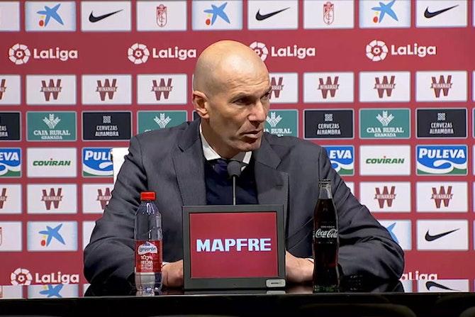"""Zidane, en titulares: """"Marcelo tenía una molestia y no queríamos arriesgar, no hay más"""""""