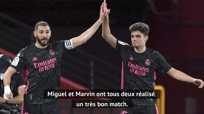 """36e j. - Zidane : """"Nous méritons cette victoire"""""""