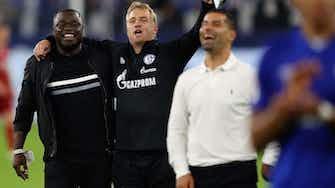 Vorschaubild für Schalke baut langfristig auf Urgesteine Asamoah und Büskens